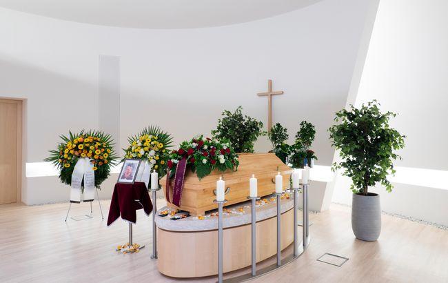 Andreas Truchses - Bestattung